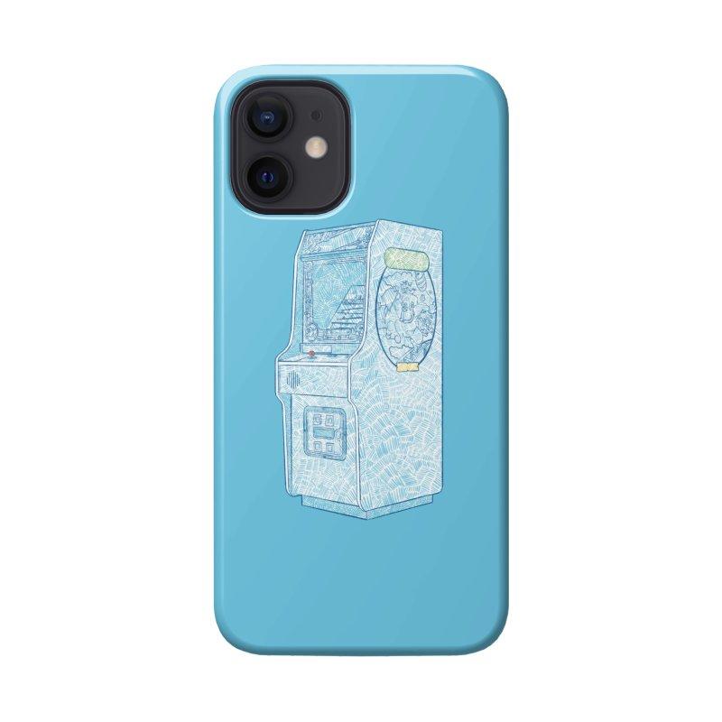 Retro Arcade Cabinet Accessories Phone Case by Krist Norsworthy Art & Design