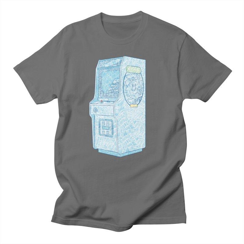 Retro Arcade Cabinet Men's T-Shirt by Krist Norsworthy Art & Design