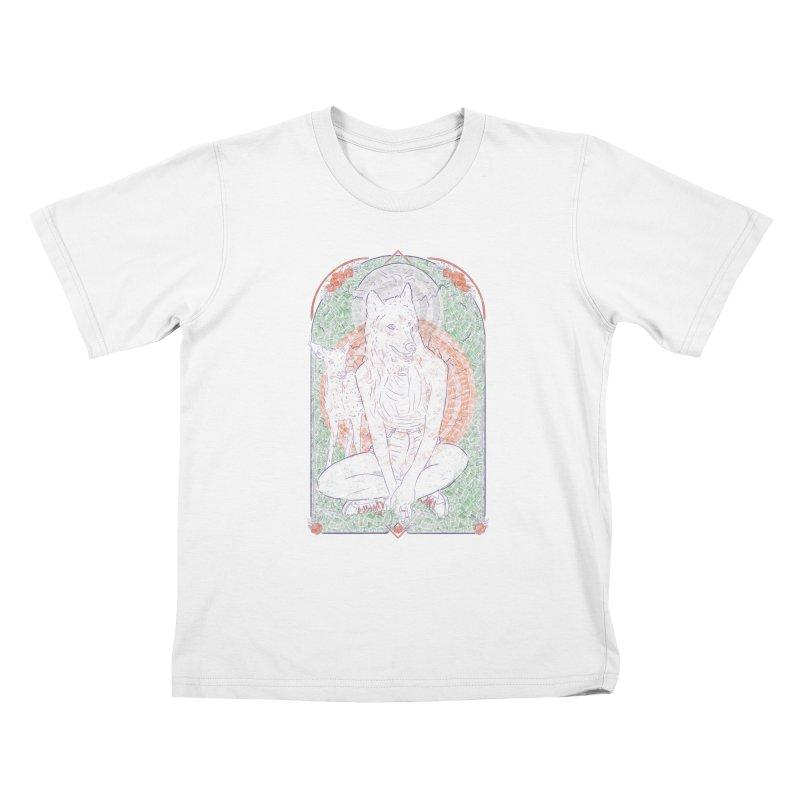 She Wolf Kids T-Shirt by Krist Norsworthy Art & Design