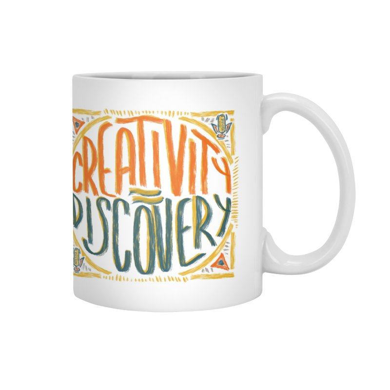 Just Be Creative Accessories Mug by Krist Norsworthy Art & Design