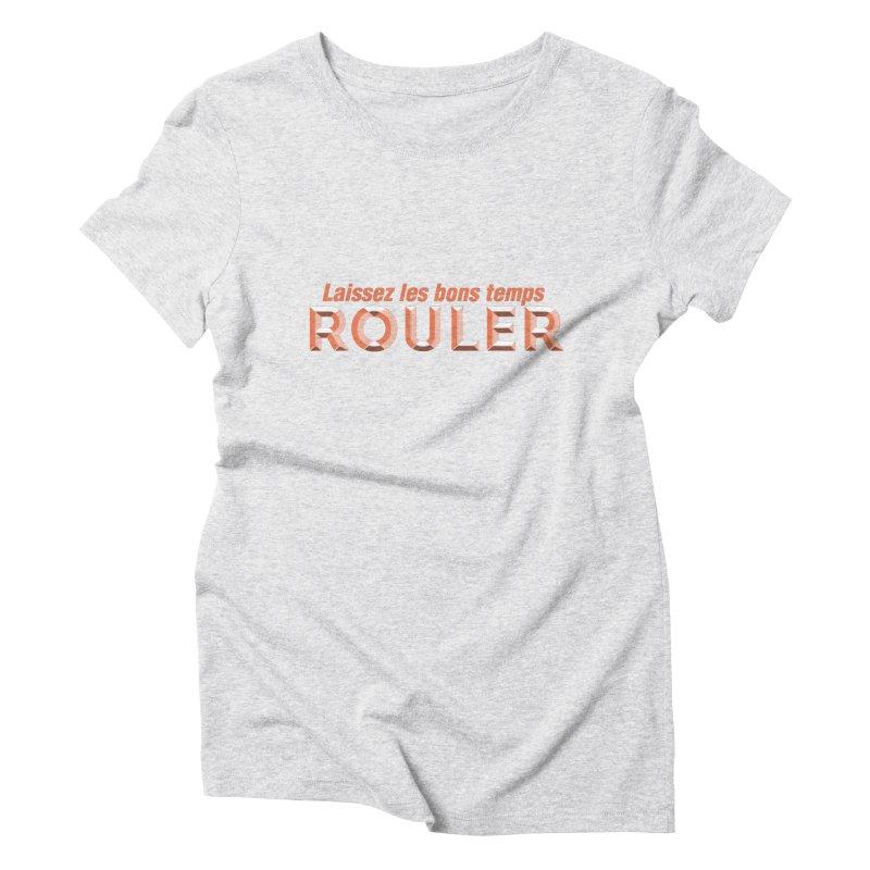 Hot Boudin (Louisiana Signs Series) Women's T-Shirt by Krist Norsworthy Art & Design
