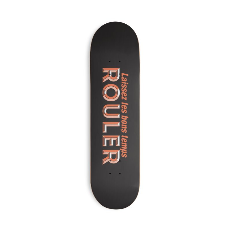 Hot Boudin (Louisiana Signs Series) Accessories Skateboard by Krist Norsworthy Art & Design