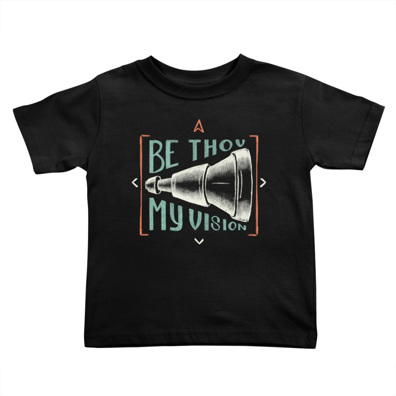 Be Thou My Vision Kids Toddler T-Shirt by Krist Norsworthy Art & Design