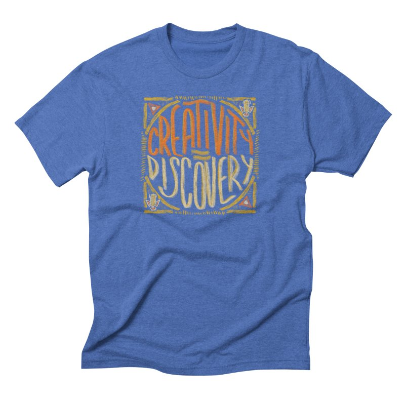 Creativity equals Discovery Men's T-Shirt by Krist Norsworthy Art & Design