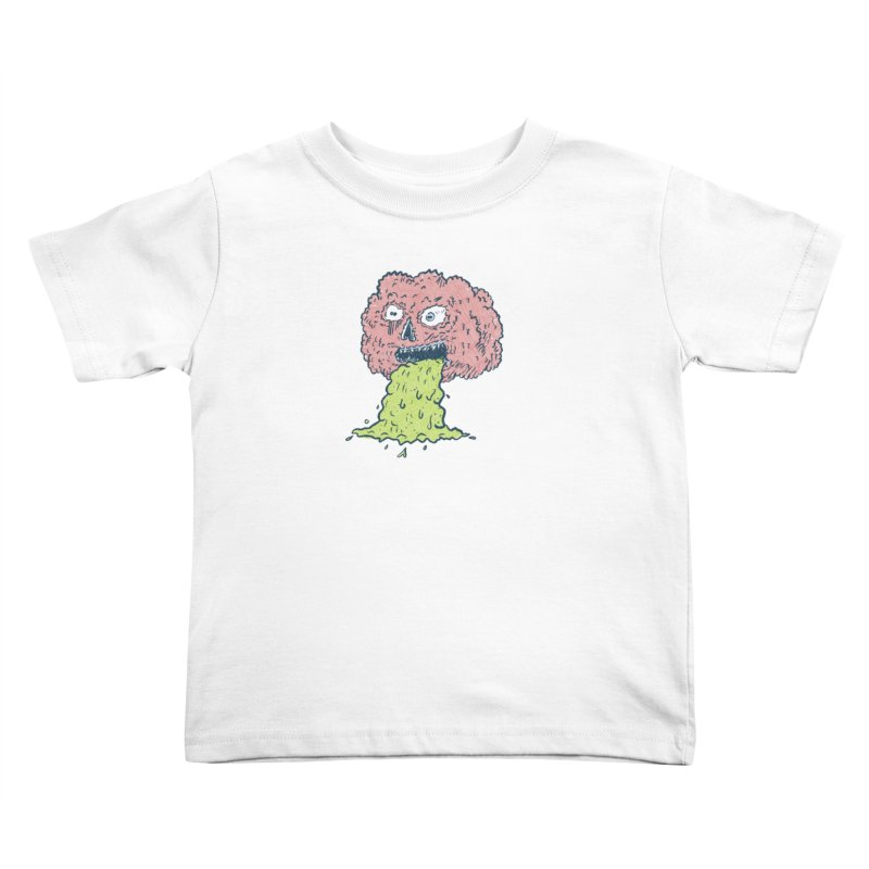 Brain Dump Kids Toddler T-Shirt by Krist Norsworthy Art & Design