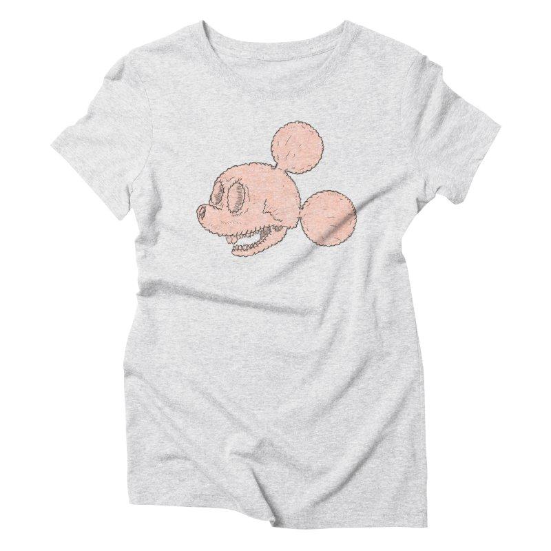 Dead Mouse Women's T-Shirt by Krist Norsworthy Art & Design