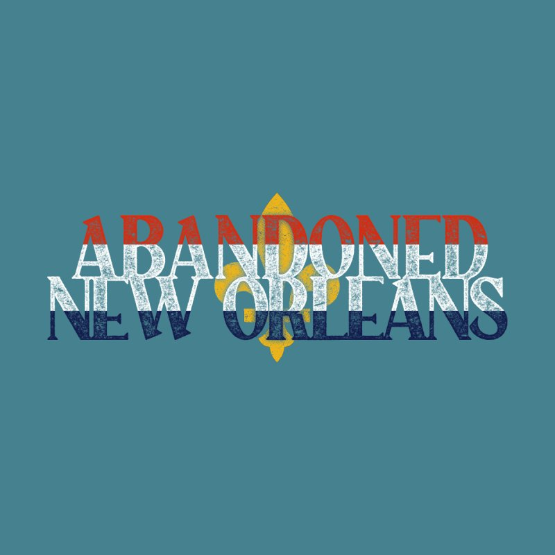 Abandoned New Orleans (flag of new orleans) Women's T-Shirt by Krist Norsworthy Art & Design