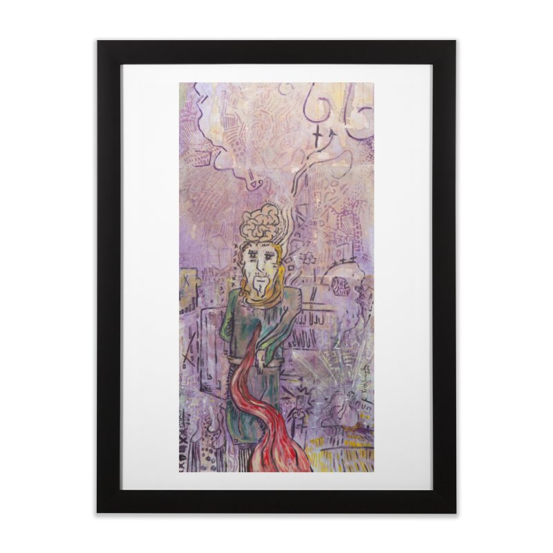 Judas Iscariot (Apostles Series) Home Framed Fine Art Print by Krist Norsworthy Art & Design