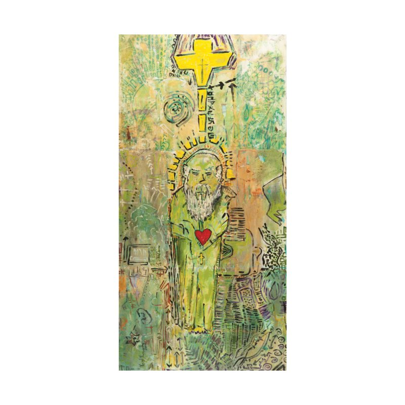 St. John (Apostles Series) by Krist Norsworthy Art & Design