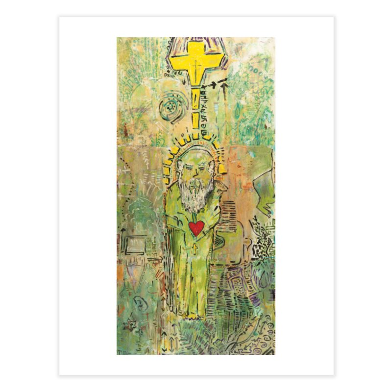St. John (Apostles Series) Home Fine Art Print by Krist Norsworthy Art & Design