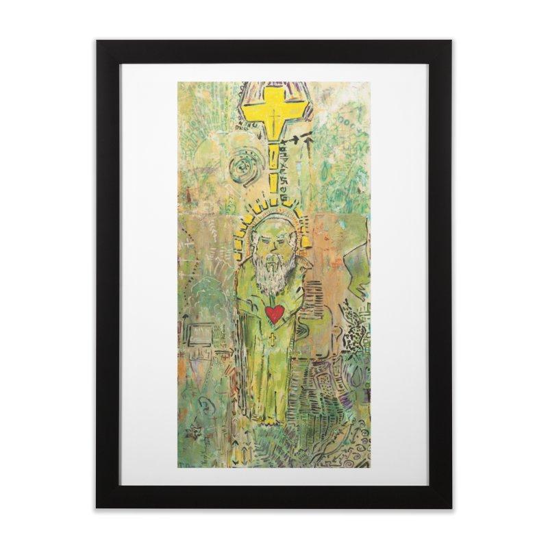 St. John (Apostles Series) Home Framed Fine Art Print by Krist Norsworthy Art & Design
