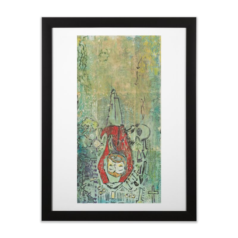 St. Peter (Apostles Series) Home Framed Fine Art Print by Krist Norsworthy Art & Design