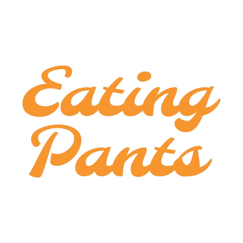 Eating Pants Men's Lounge Pants by Kristy and Luke's Shop of Mostly Horrible Things