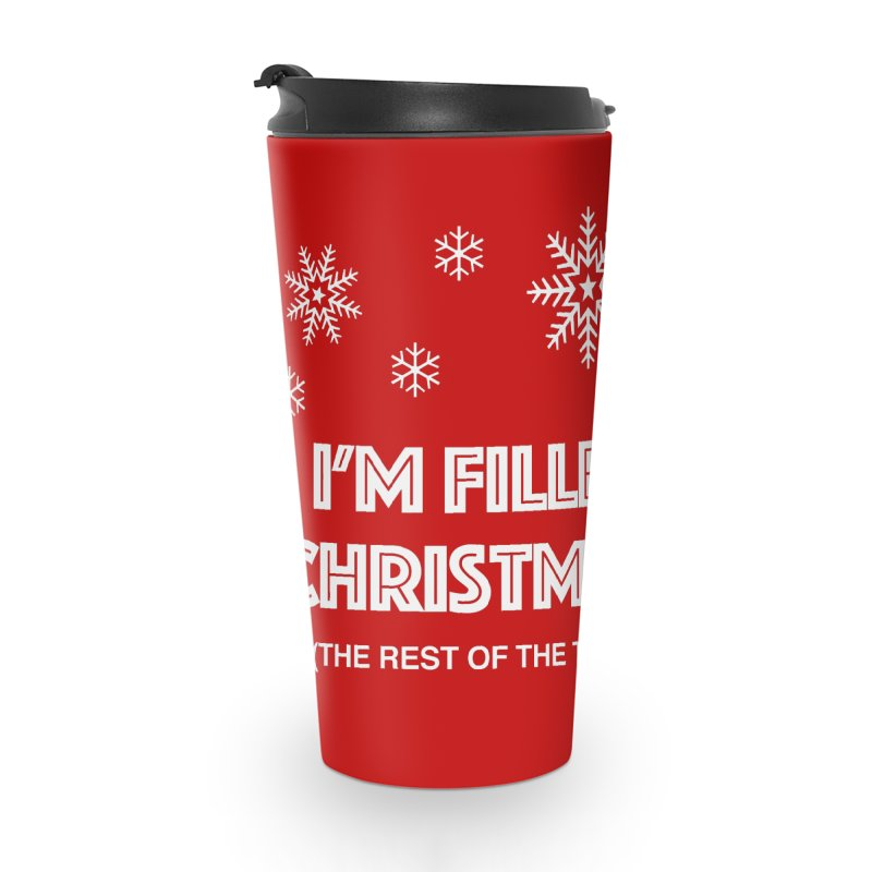 Christmas Spirit Accessories Mug by Kristy and Luke's Shop of Mostly Horrible Things