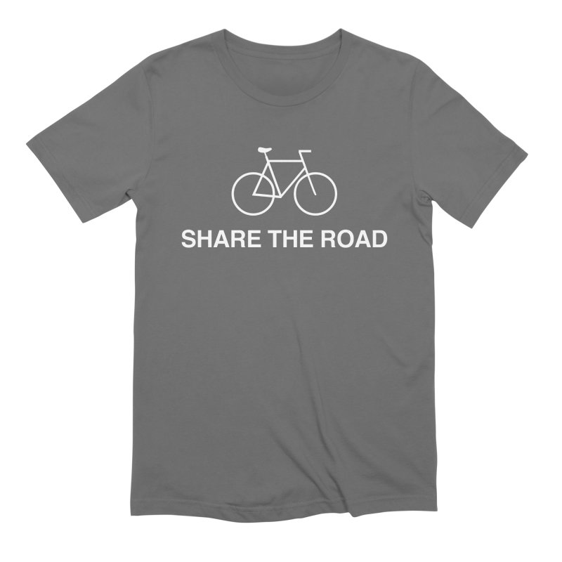 Share the Road Men's T-Shirt by Kristy and Luke's Shop of Mostly Horrible Things