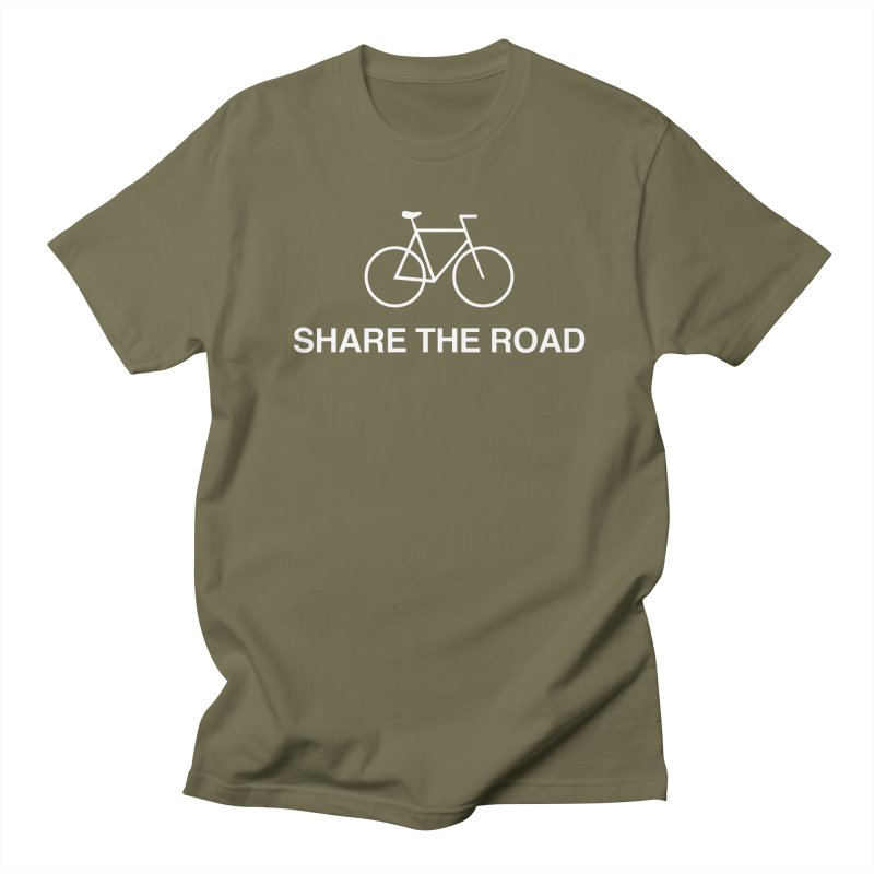 Share the Road Women's Regular Unisex T-Shirt by Kristy and Luke's Shop of Mostly Horrible Things