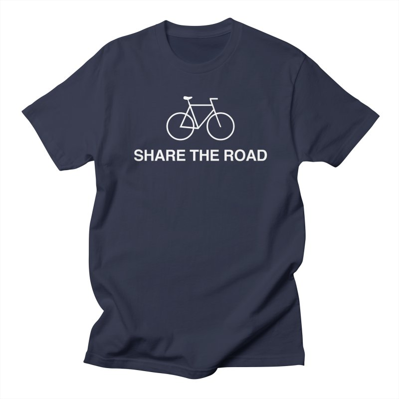 Share the Road Men's Regular T-Shirt by Kristy and Luke's Shop of Mostly Horrible Things
