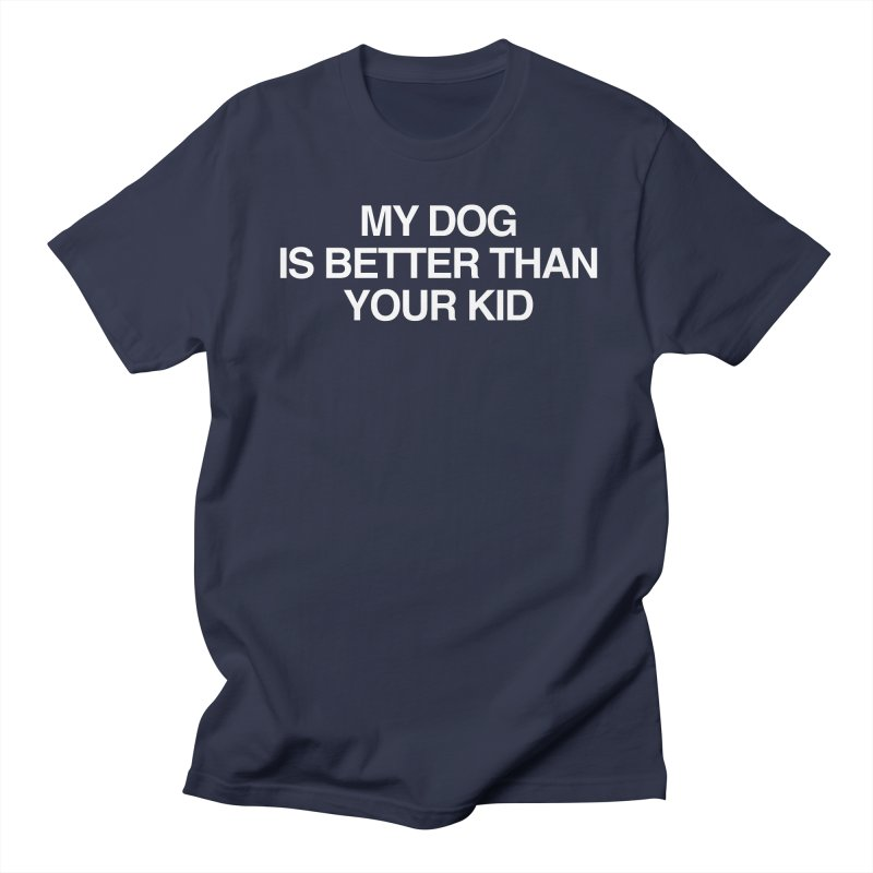 Dog > Kid Men's Regular T-Shirt by Kristy and Luke's Shop of Mostly Horrible Things