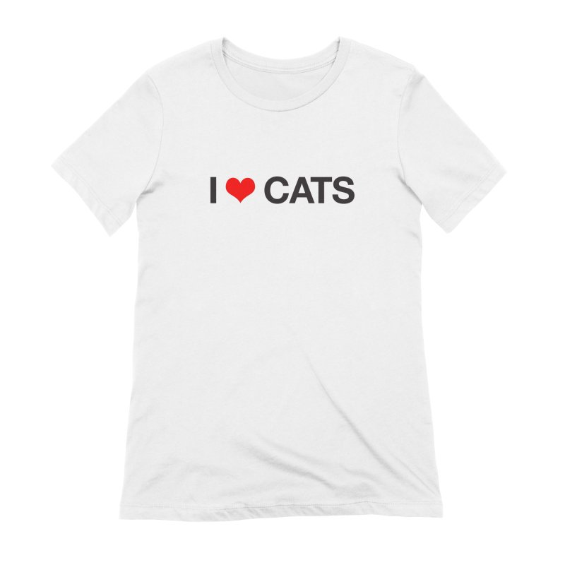 Cat Lady Women's Extra Soft T-Shirt by Kristy and Luke's Shop of Mostly Horrible Things