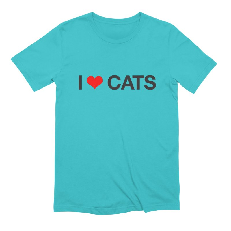 Cat Lady Men's Extra Soft T-Shirt by Kristy and Luke's Shop of Mostly Horrible Things