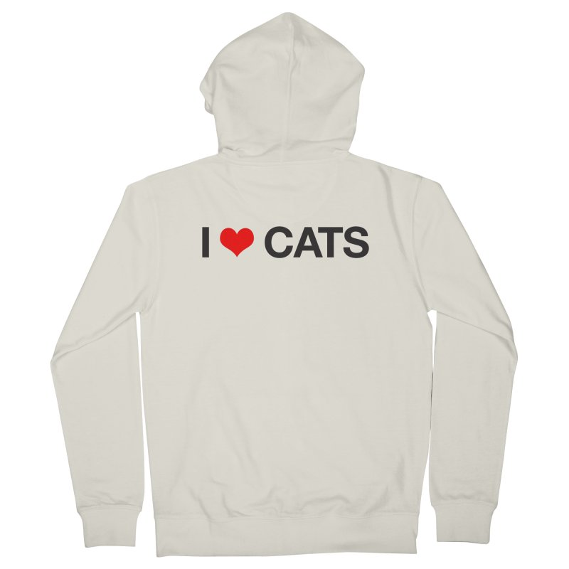 Cat Lady Women's French Terry Zip-Up Hoody by Kristy and Luke's Shop of Mostly Horrible Things
