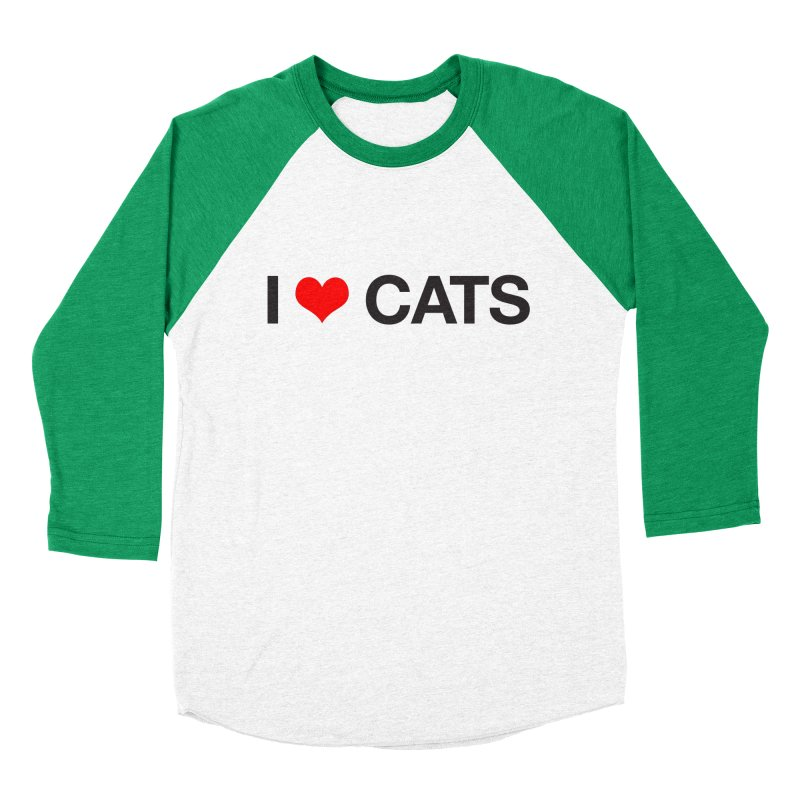 Cat Lady Women's Baseball Triblend Longsleeve T-Shirt by Kristy and Luke's Shop of Mostly Horrible Things
