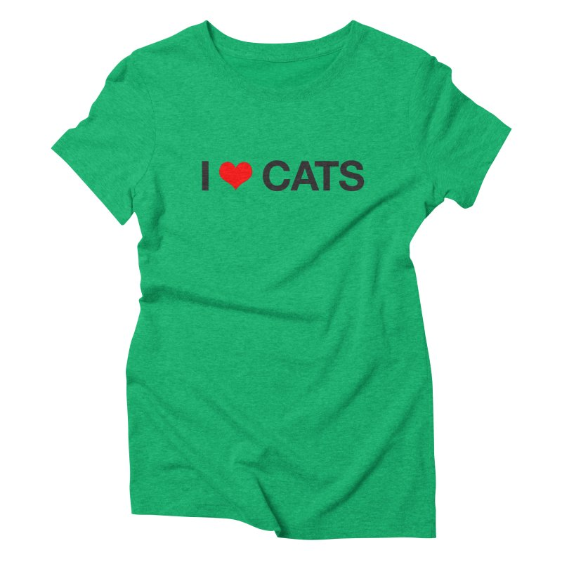 Cat Lady Women's Triblend T-Shirt by Kristy and Luke's Shop of Mostly Horrible Things