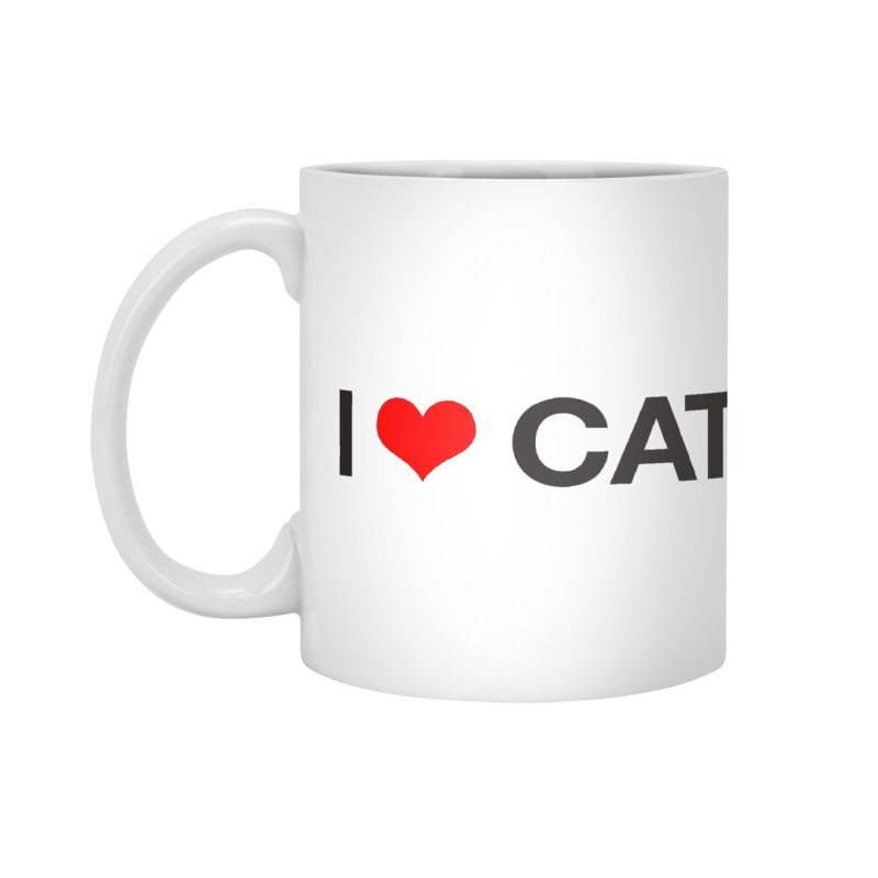 Cat Lady Accessories Mug by Kristy and Luke's Shop of Mostly Horrible Things