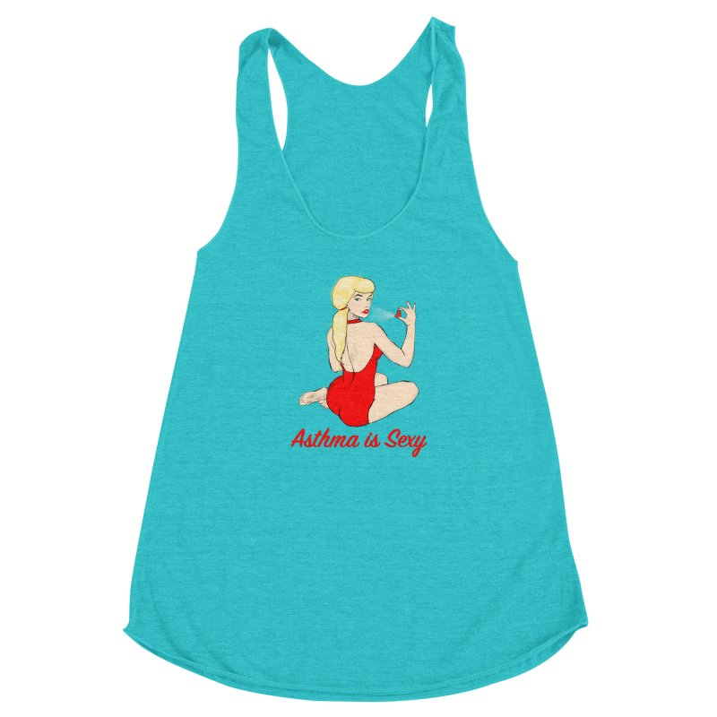 Asthma is Sexy Women's Tank by Kristy and Luke's Shop of Mostly Horrible Things