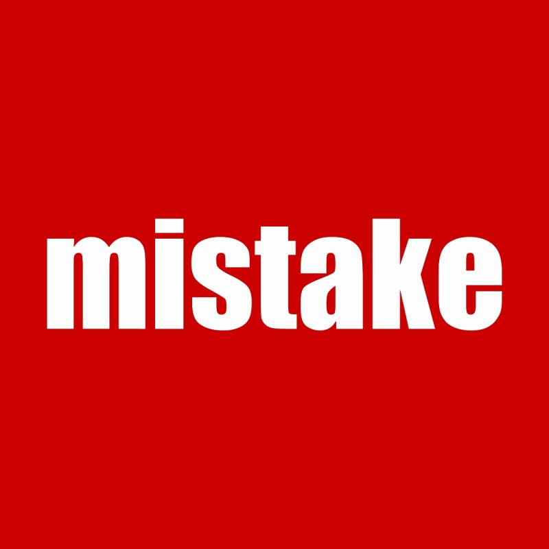 Mistake Kids T-Shirt by Kristy and Luke's Shop of Mostly Horrible Things