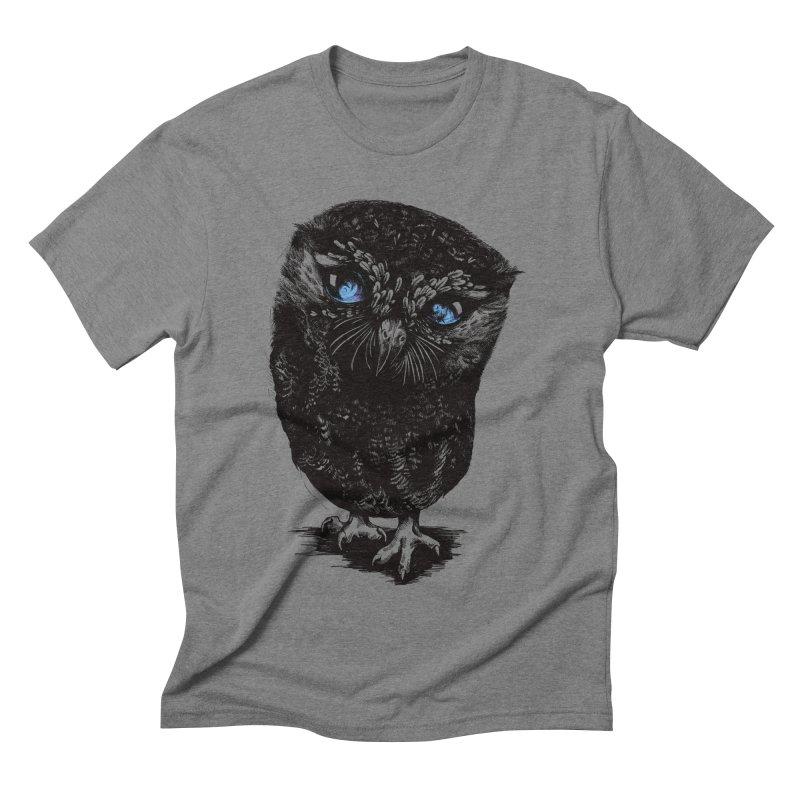 Zeus Men's Triblend T-shirt by Kristy Boisvert