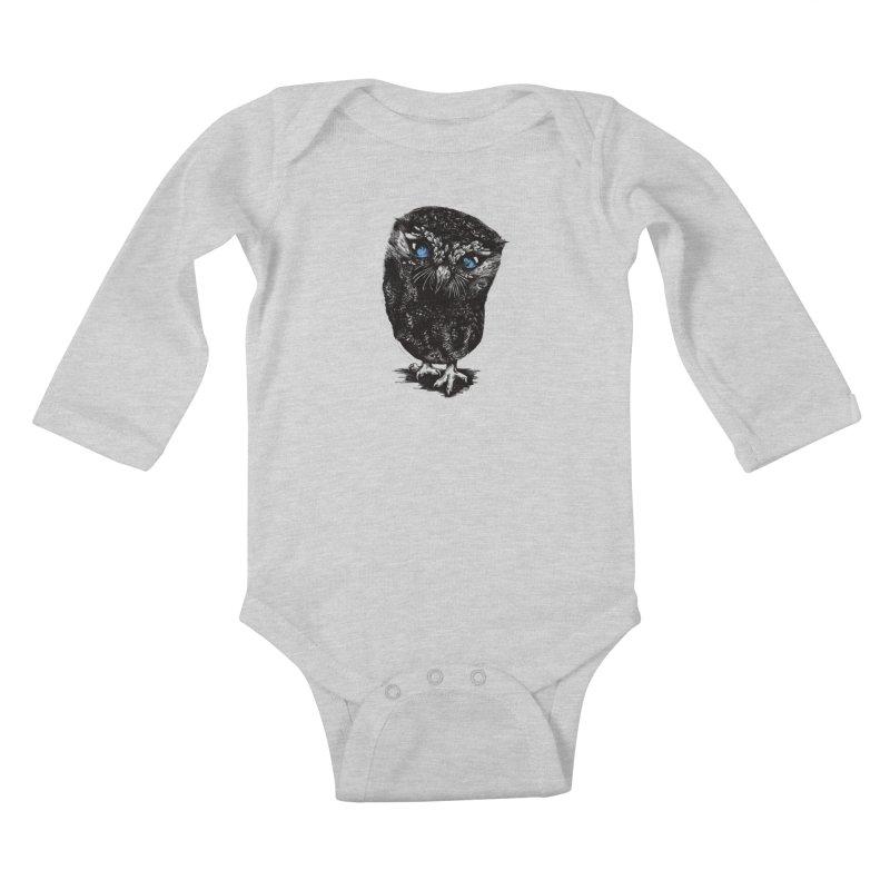 Zeus Kids Baby Longsleeve Bodysuit by Kristy Boisvert