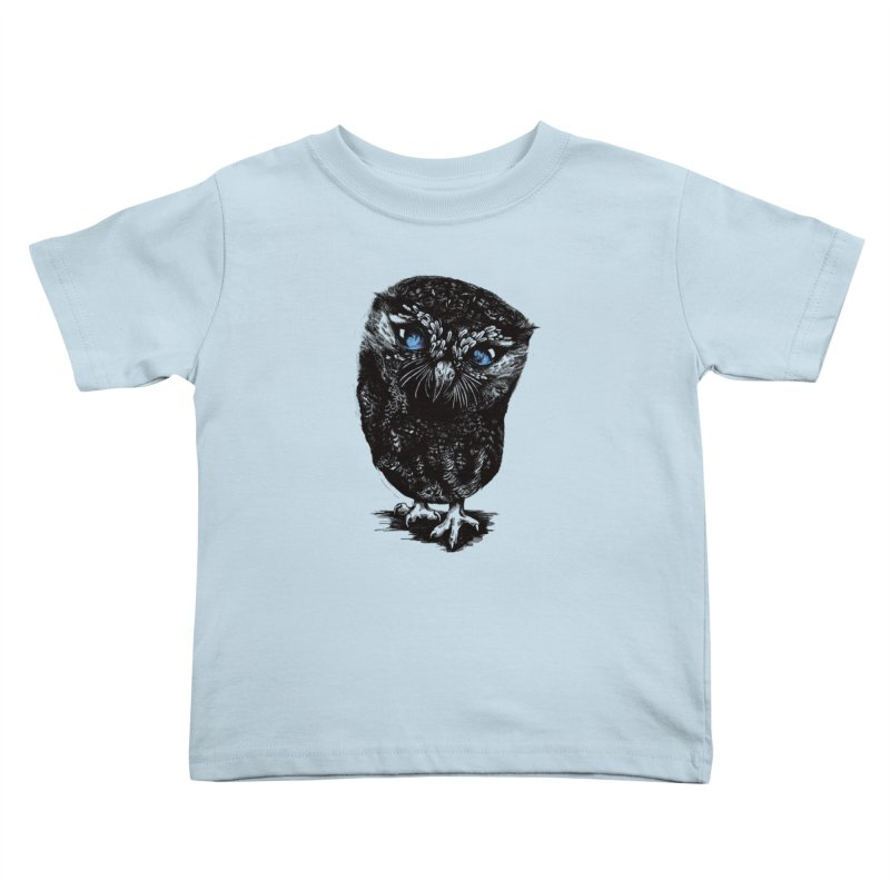 Zeus Kids Toddler T-Shirt by Kristy Boisvert