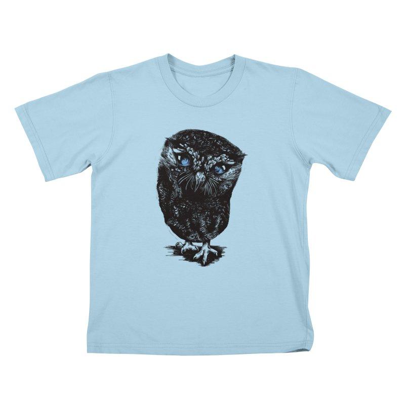 Zeus Kids T-shirt by Kristy Boisvert