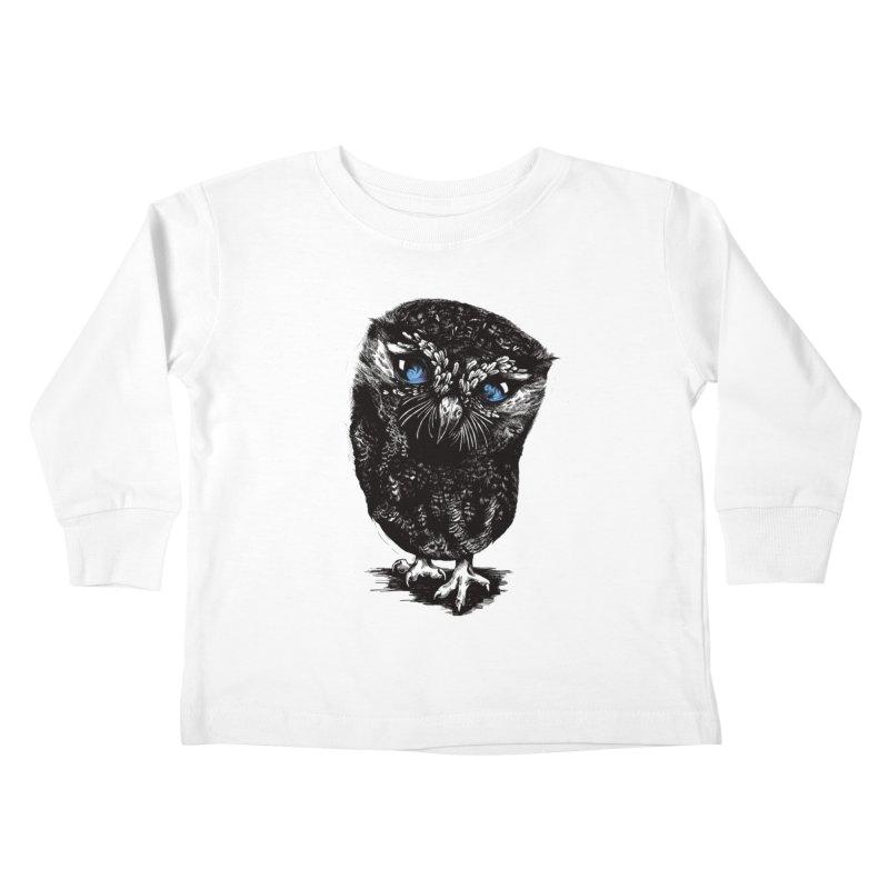 Zeus Kids Toddler Longsleeve T-Shirt by Kristy Boisvert