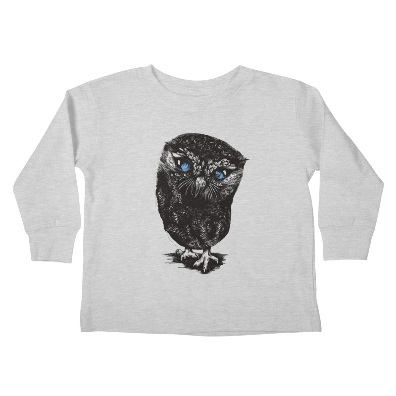 Zeus Kids Toddler Longsleeve T-Shirt by Kristy Boisvert