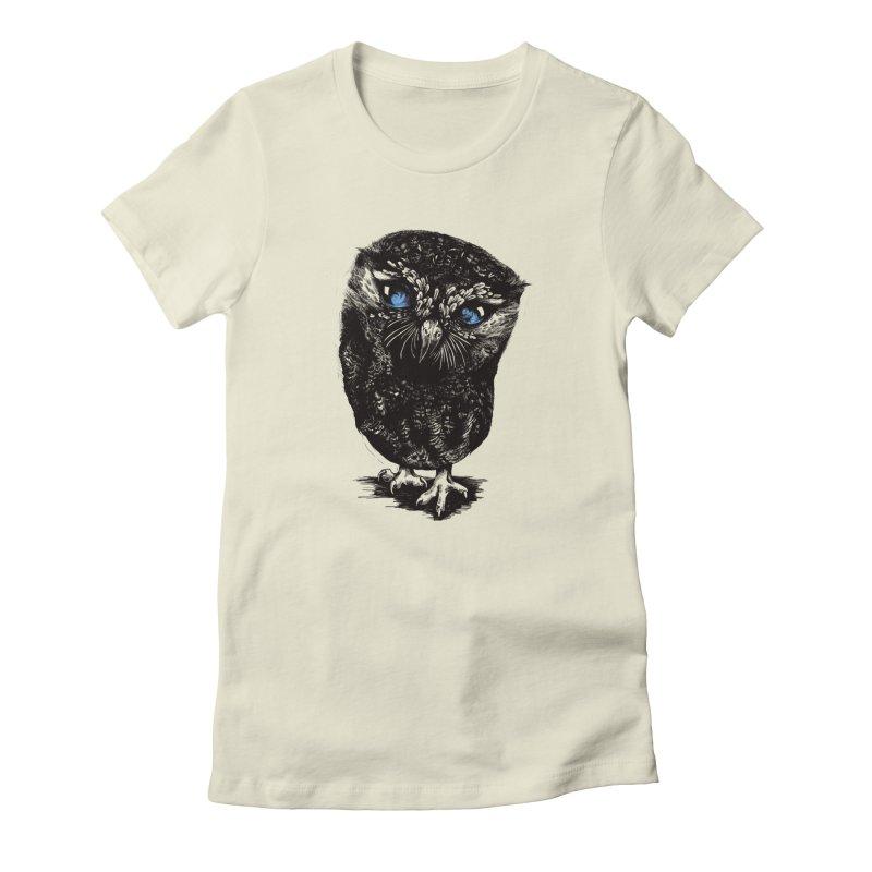 Zeus Women's Fitted T-Shirt by Kristy Boisvert