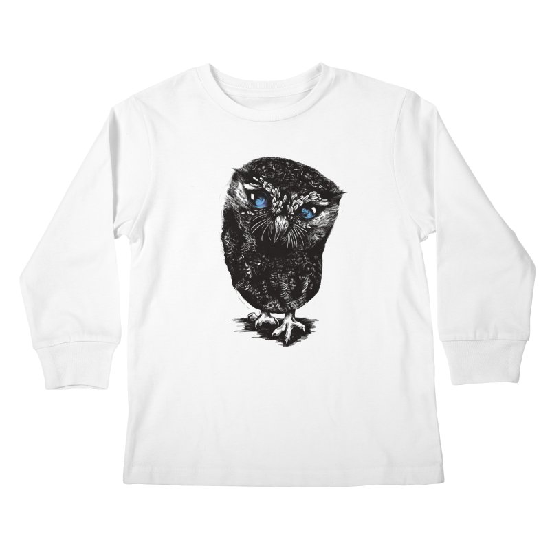 Zeus Kids Longsleeve T-Shirt by Kristy Boisvert