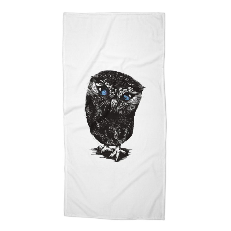 Zeus Accessories Beach Towel by Kristy Boisvert