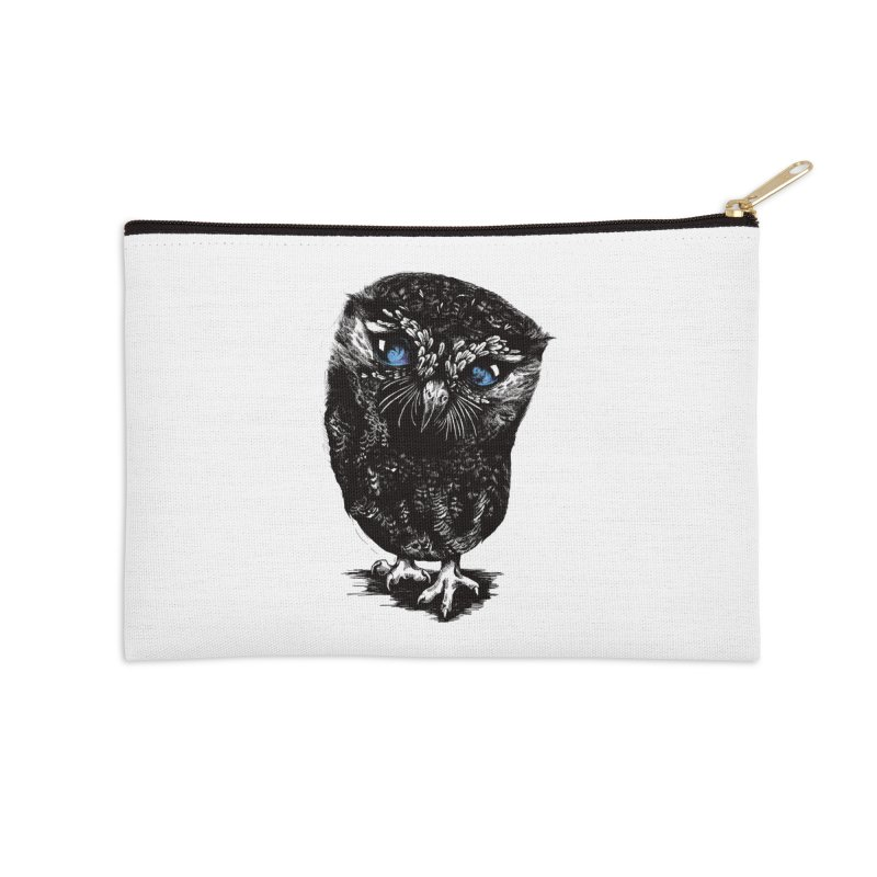 Zeus Accessories Zip Pouch by Kristy Boisvert