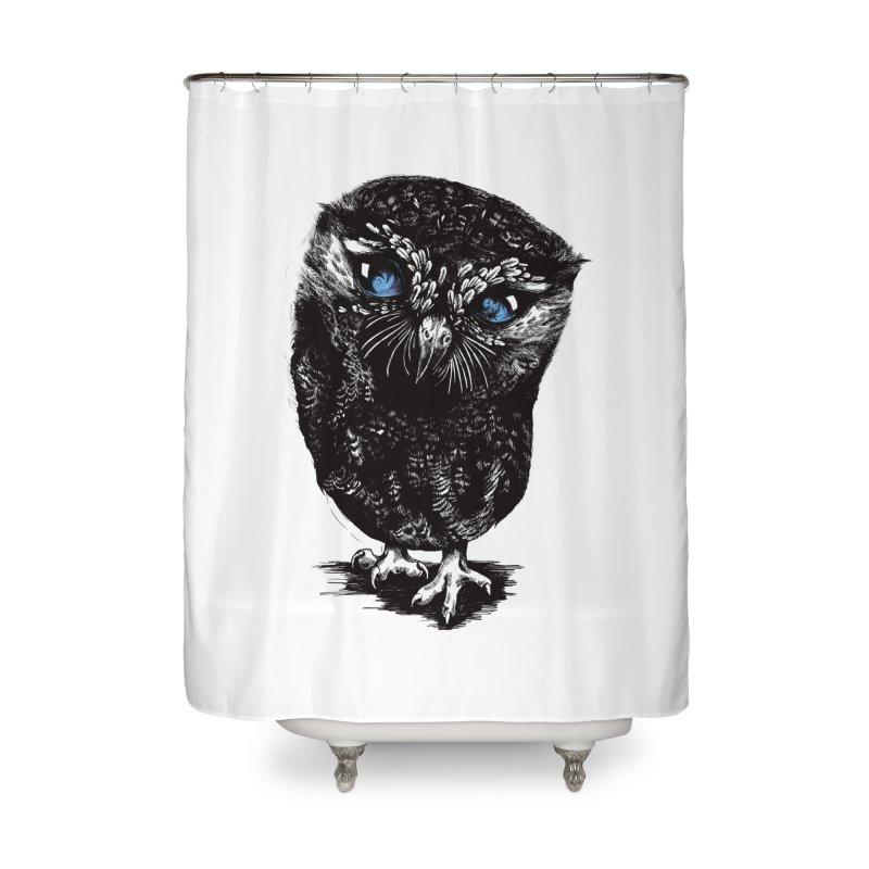 Zeus Home Shower Curtain by Kristy Boisvert
