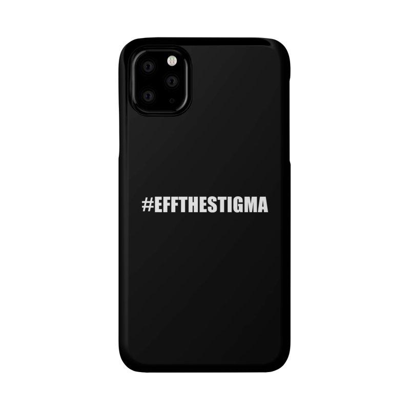 Black Phone Case Accessories Phone Case by #EFFTHESTIGMA