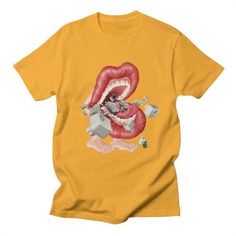Mega bite A.K.A. Damn Men's T-Shirt by KrizanDS