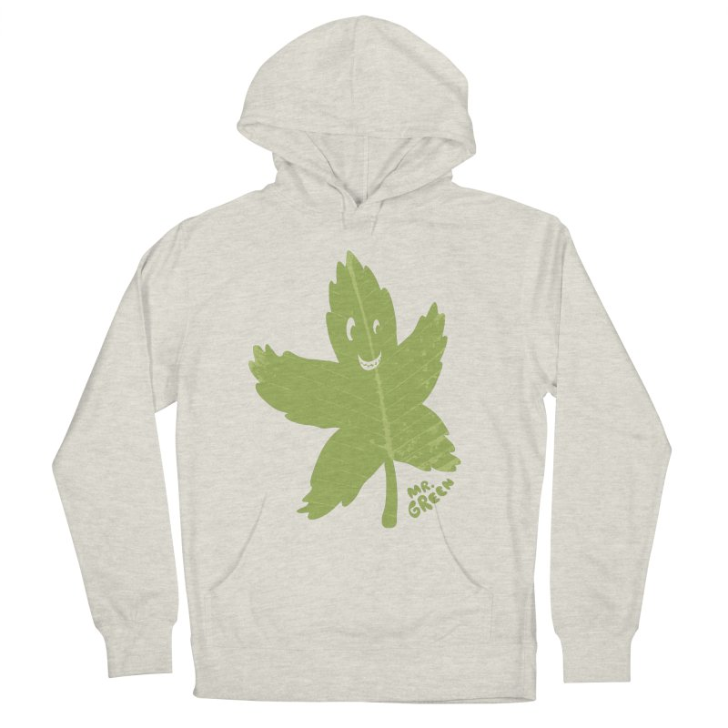 Mr. Green Men's Pullover Hoody by KrizanDS