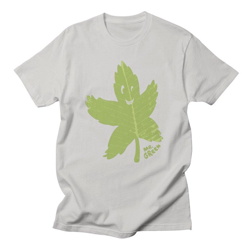 Mr. Green Women's Unisex T-Shirt by KrizanDS