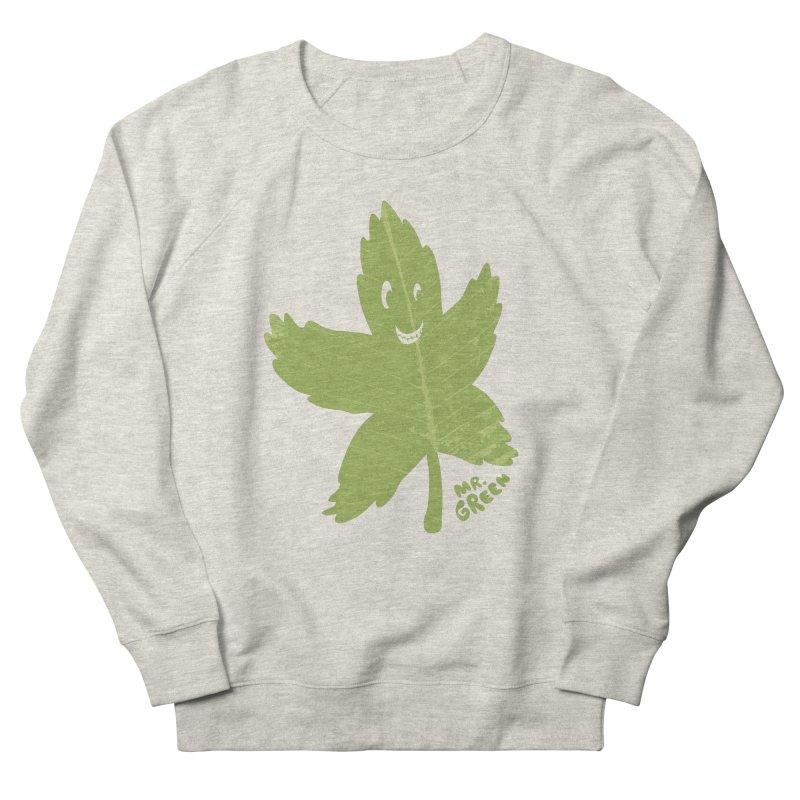 Mr. Green Men's Sweatshirt by KrizanDS