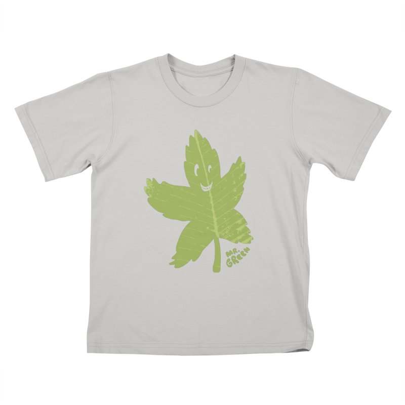 Mr. Green Kids T-Shirt by KrizanDS