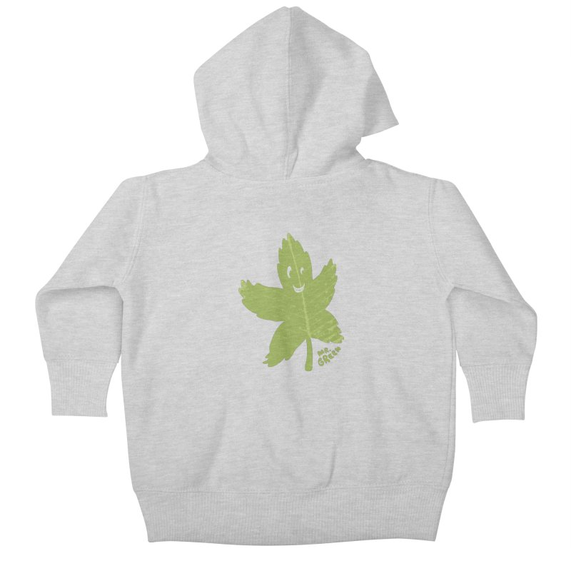 Mr. Green Kids Baby Zip-Up Hoody by KrizanDS