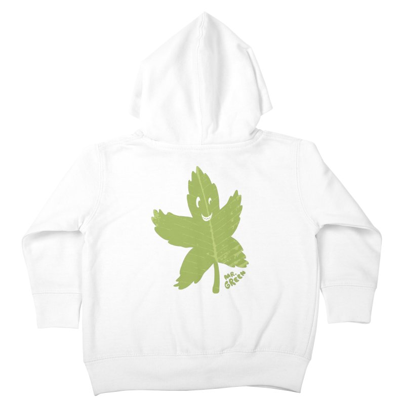 Mr. Green Kids Toddler Zip-Up Hoody by KrizanDS