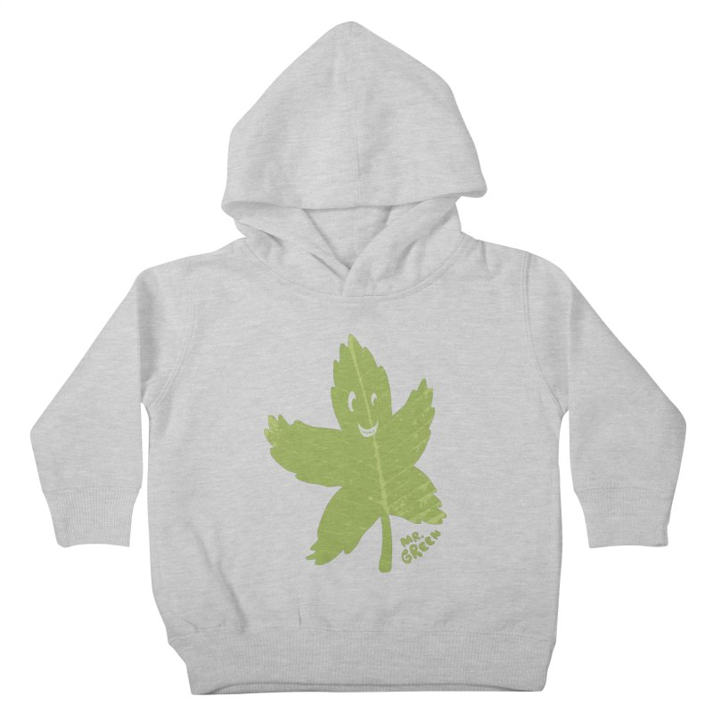 Mr. Green Kids Toddler Pullover Hoody by KrizanDS
